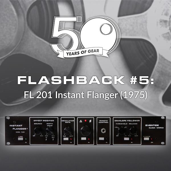 Eventide Flashback Instant Flanger Tape Flanging Studio Gear