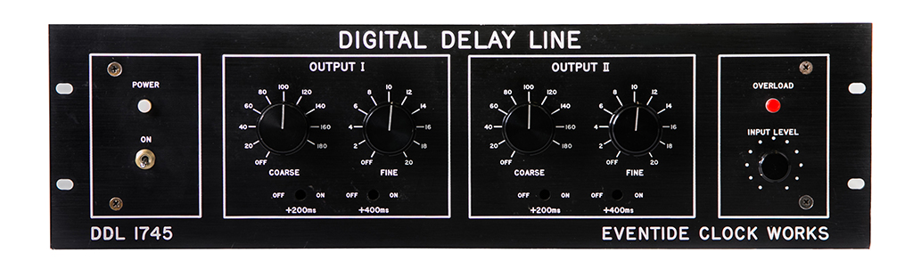 Eventide DDL 1745 Digital Delay Line Rackmount Legacy