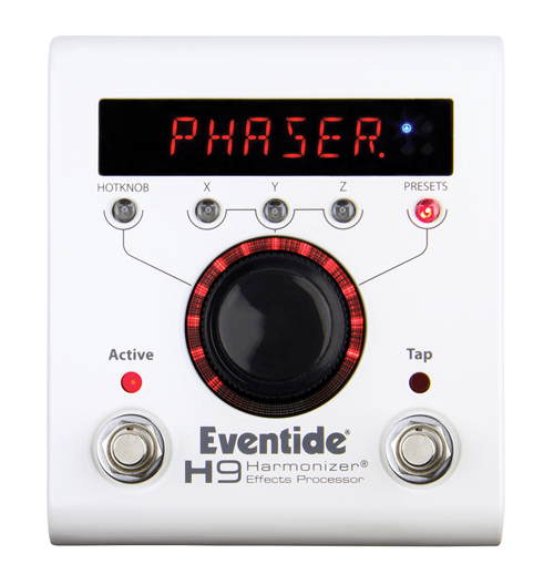 Eventide H9 Multi Effects Pedal delay reverb modulation pitch shift distortion