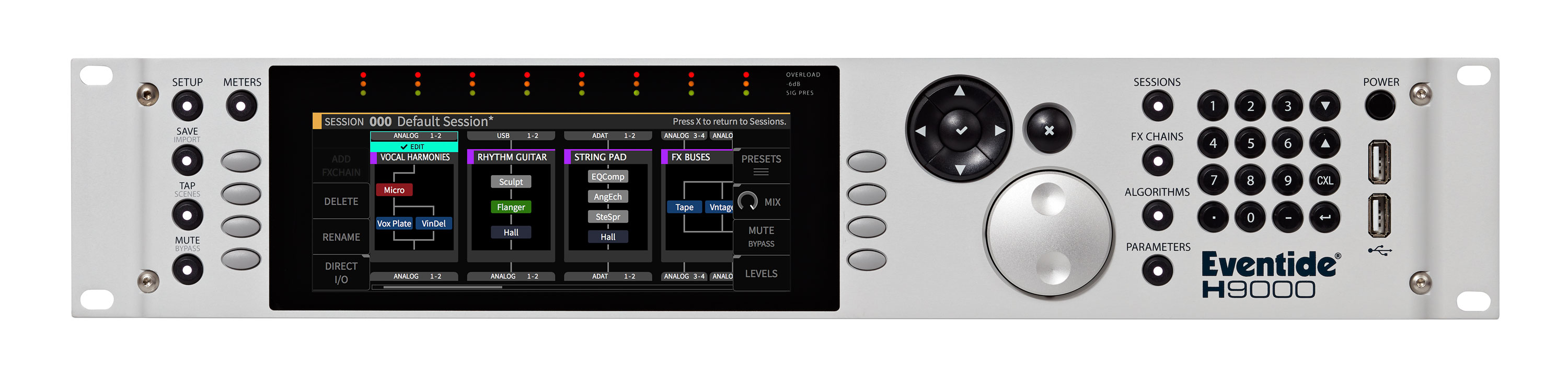 Eventide H9000 Harmonizer Network-ready Multi FX, Multi Channel, Effects Processor