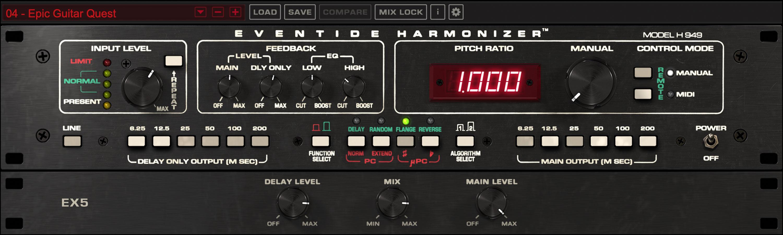 H949 Harmonizer Plug-in