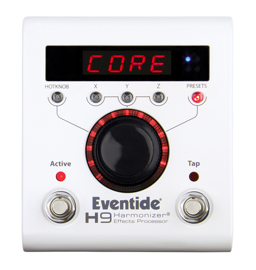 Eventide H9 Core Multi Effects Pedal delay reverb modulation pitch shift distortion