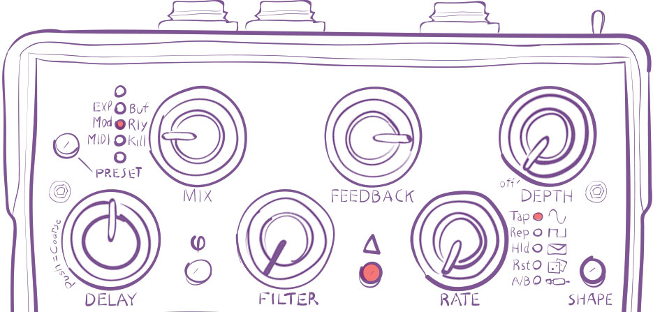 Rose Preset 3 Dirty Dub Delay