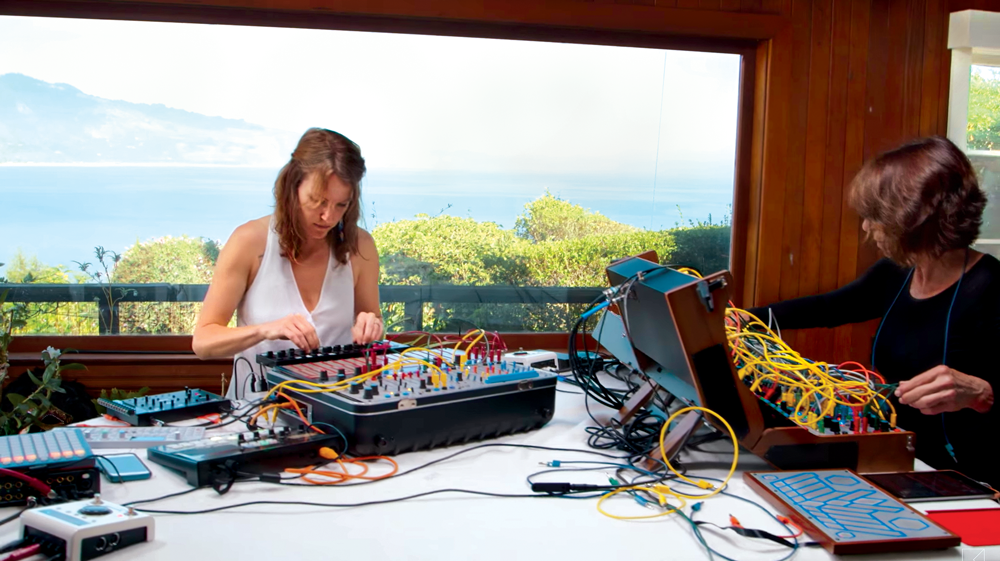 Suzanne Cianni and Kailtyn Aurelia Smith recording Sunnery