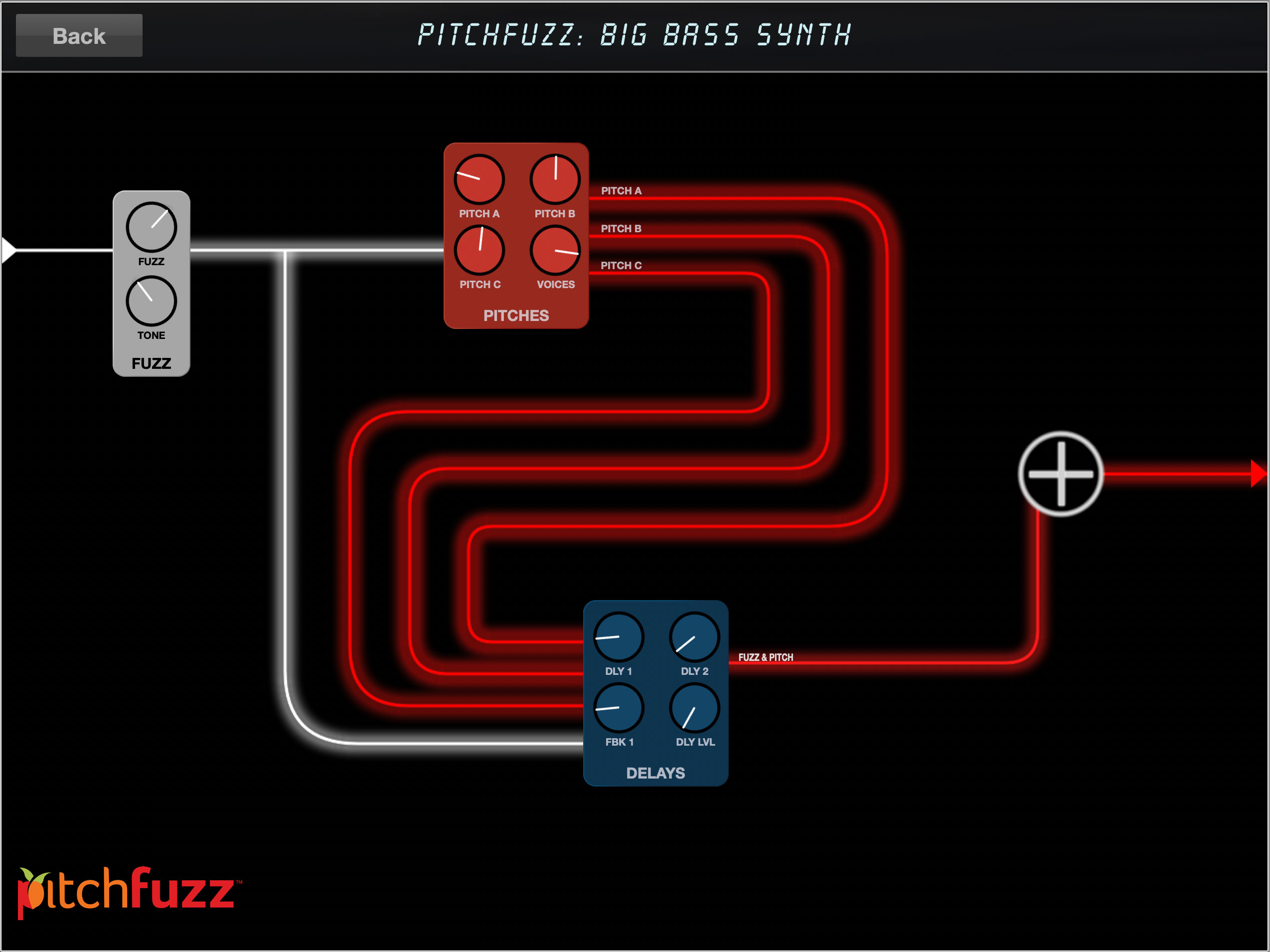 PitchFuzz Secondary Controls