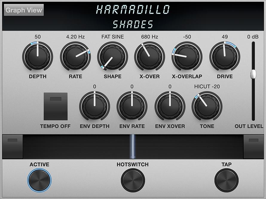 Harmadillo Algorithm Controls