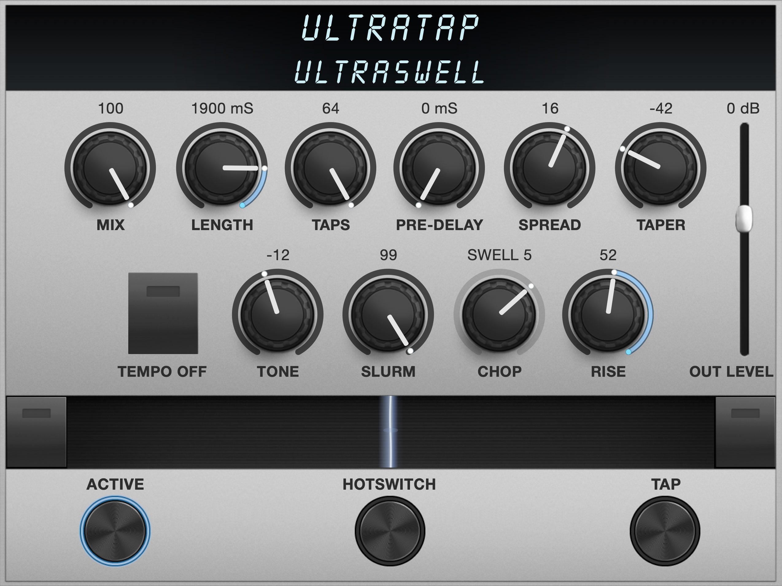 UltraTap Algorithm Controls