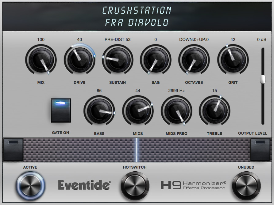 CrushStation Algorithm Controls