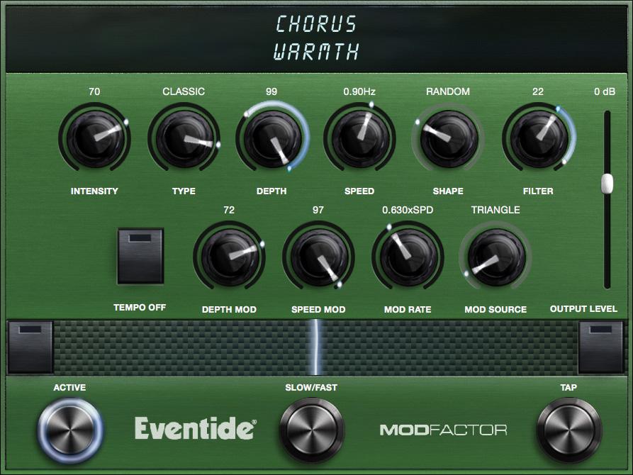Chorus Algorithm Controls