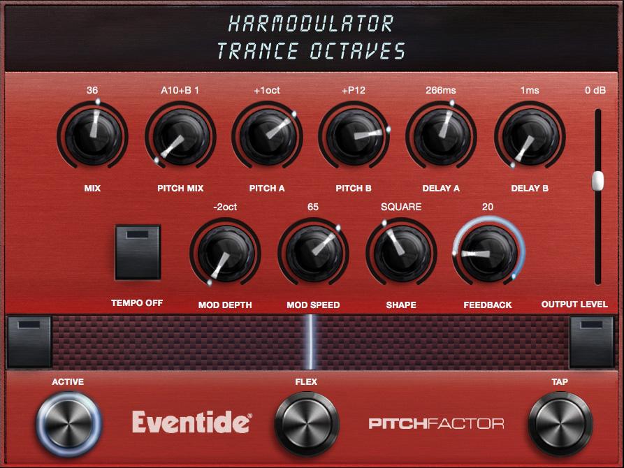 Harmodulator Algorithm Controls