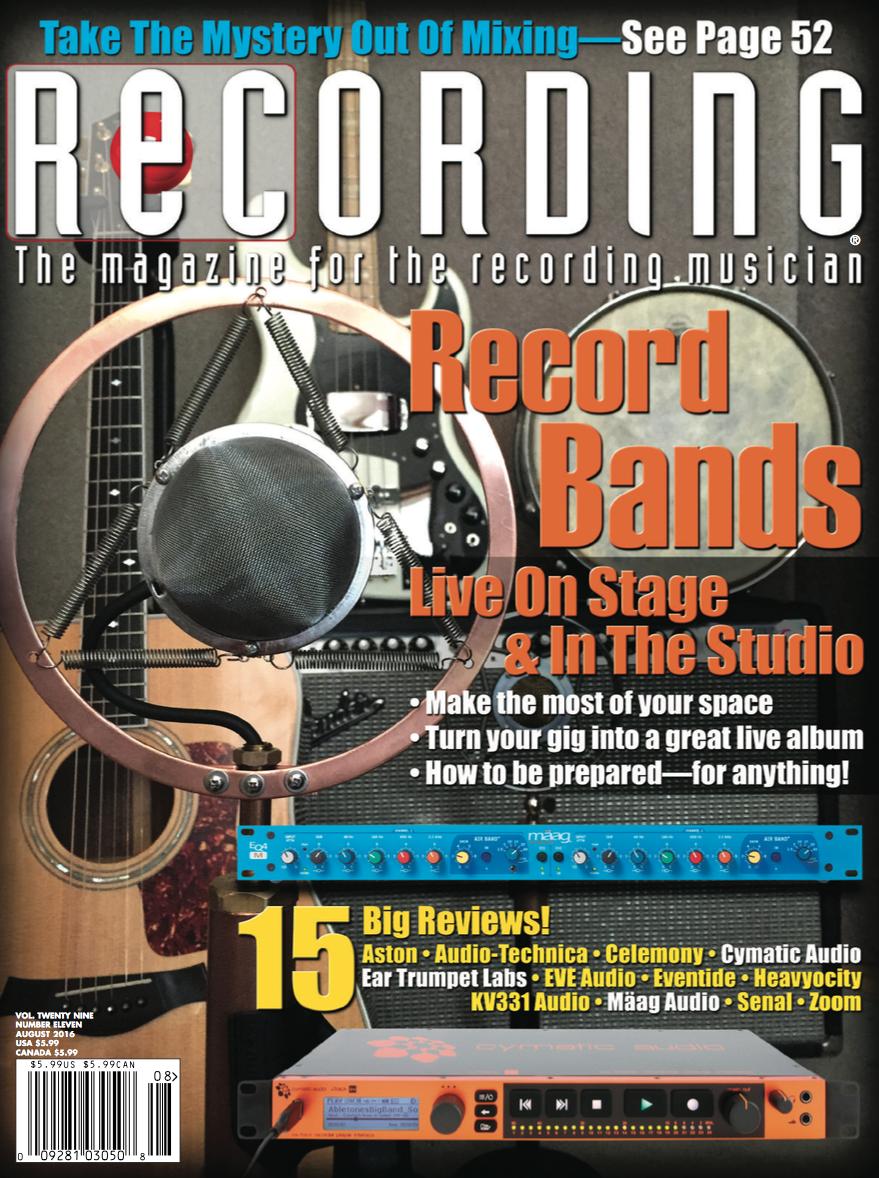 Recording Magazine on Anthology X | Eventide