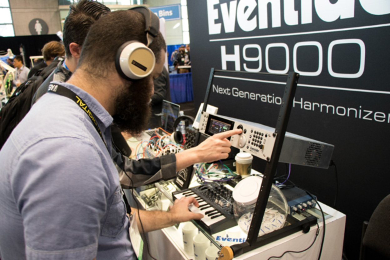 H9000 on display at AES 2017 in NYC