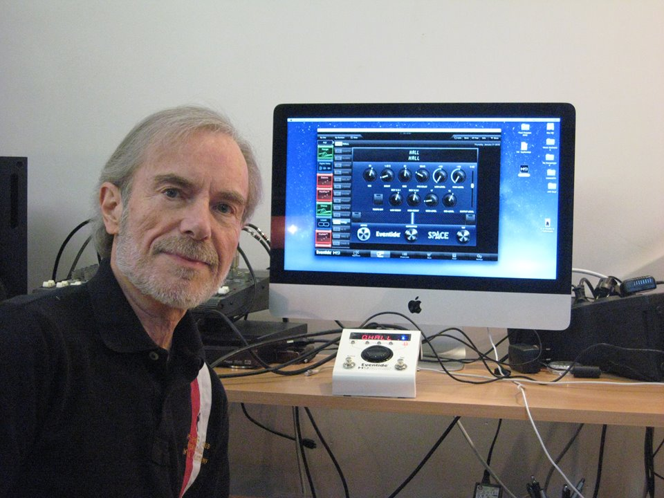 Jean Luc Ponty with his Eventide H9