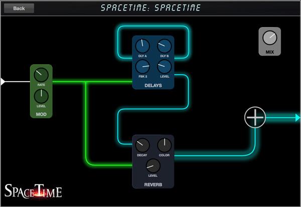 SpaceTime Pedal View Screenshot