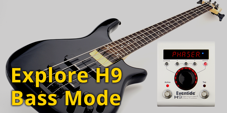 Hit the Low End - H9 as a Bass Pedal