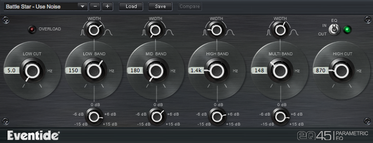 EQ 45 parametric Plug-in