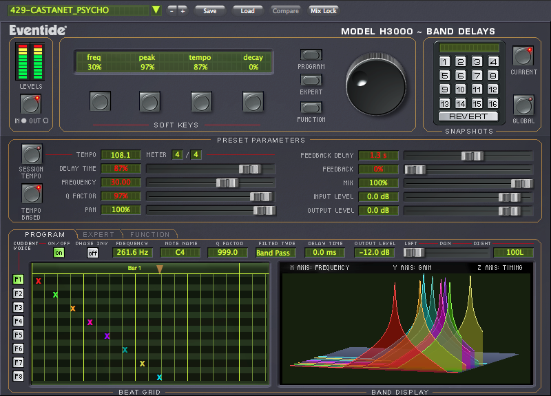 H3000 Band Delays Harmonizer Plug-in