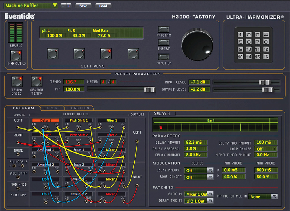 H3000 Factory Ultra Harmonizer Multi FX Plug-in