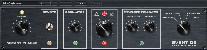 Instant Phaser Plug-in