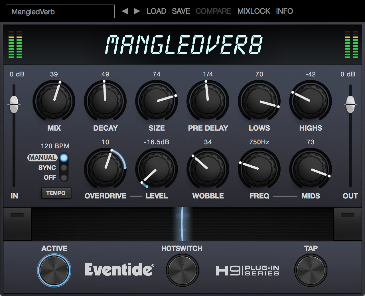 MangledVerb plug-in screen shot