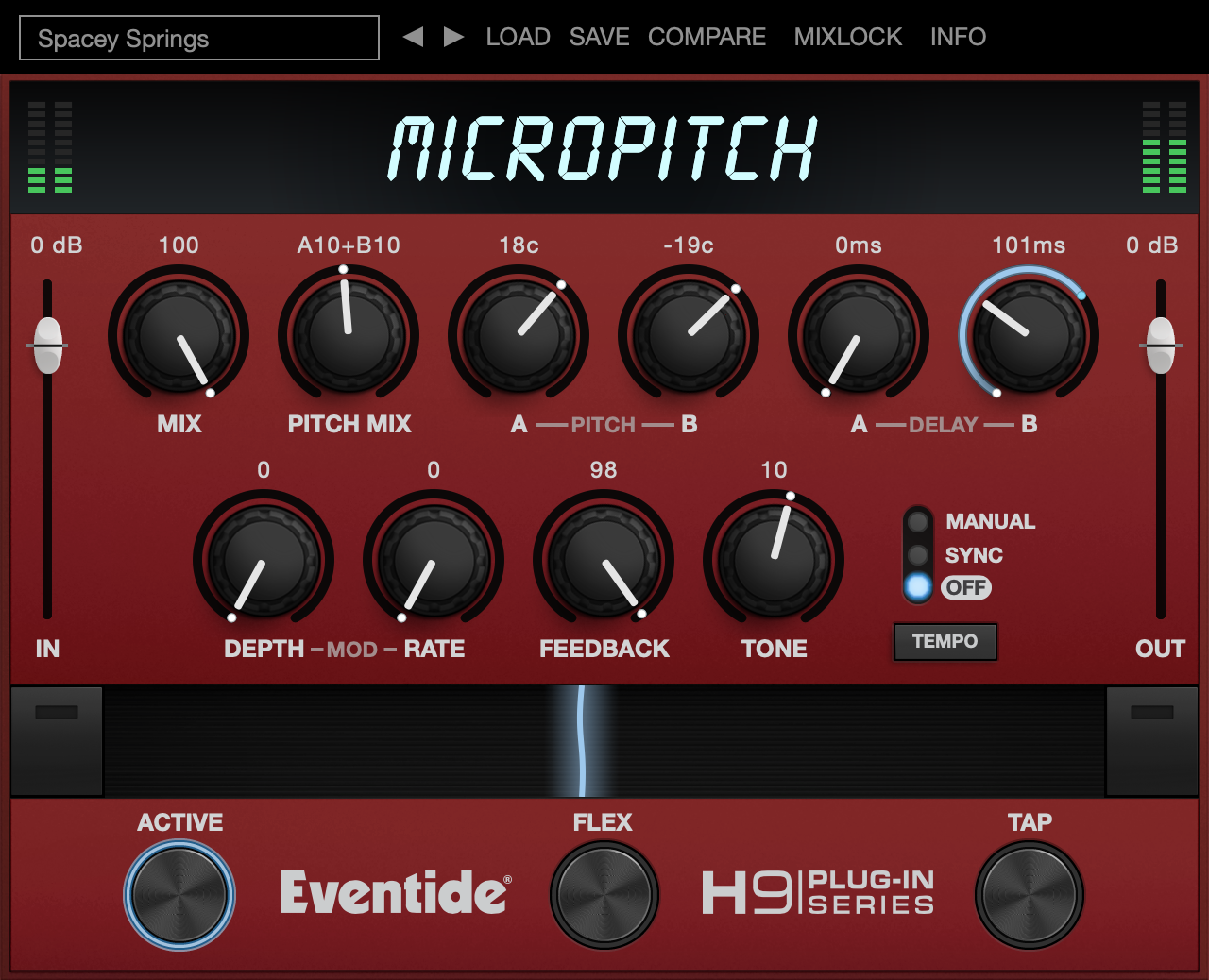 Eventide MicroPitch plugin desktop aax, vst, audio units, pitch shifting delay special fx