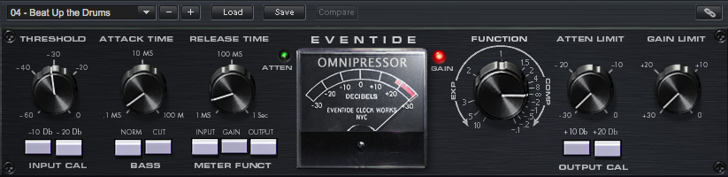 Omnipressor compression Plug-in