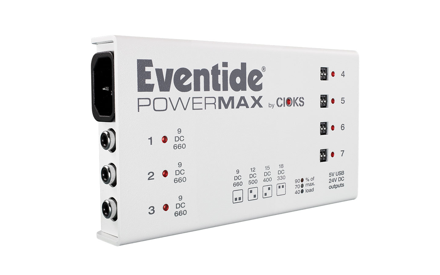 Eventide PowerMax Rev 2 - Pedalboard Power Supply