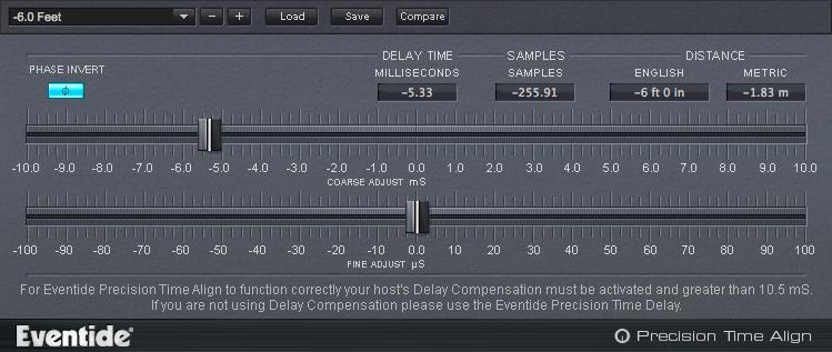 Precision Time Align Plug-in