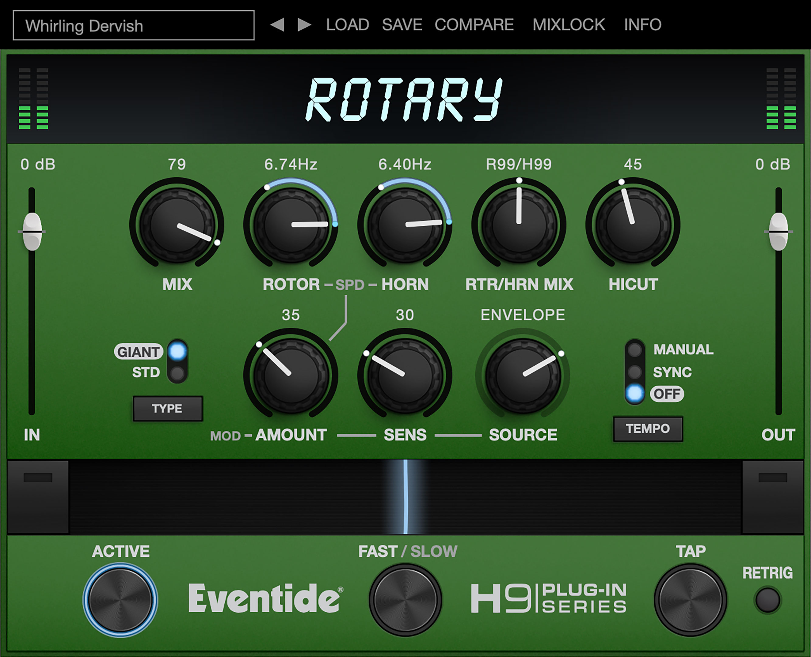 Rotary Leslie Cab modulation plugin for vst, aax, au