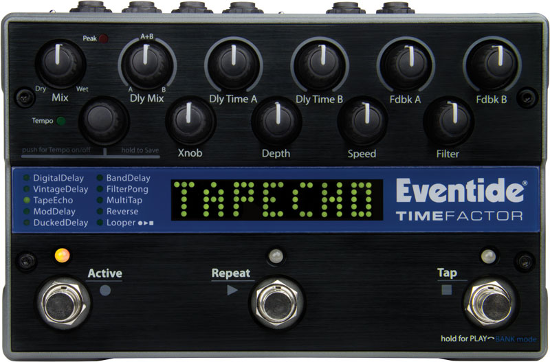 timefactor dual delay pedal with looper eventide rh eventideaudio com eventide timefactor manual pdf eventide timefactor delay manual