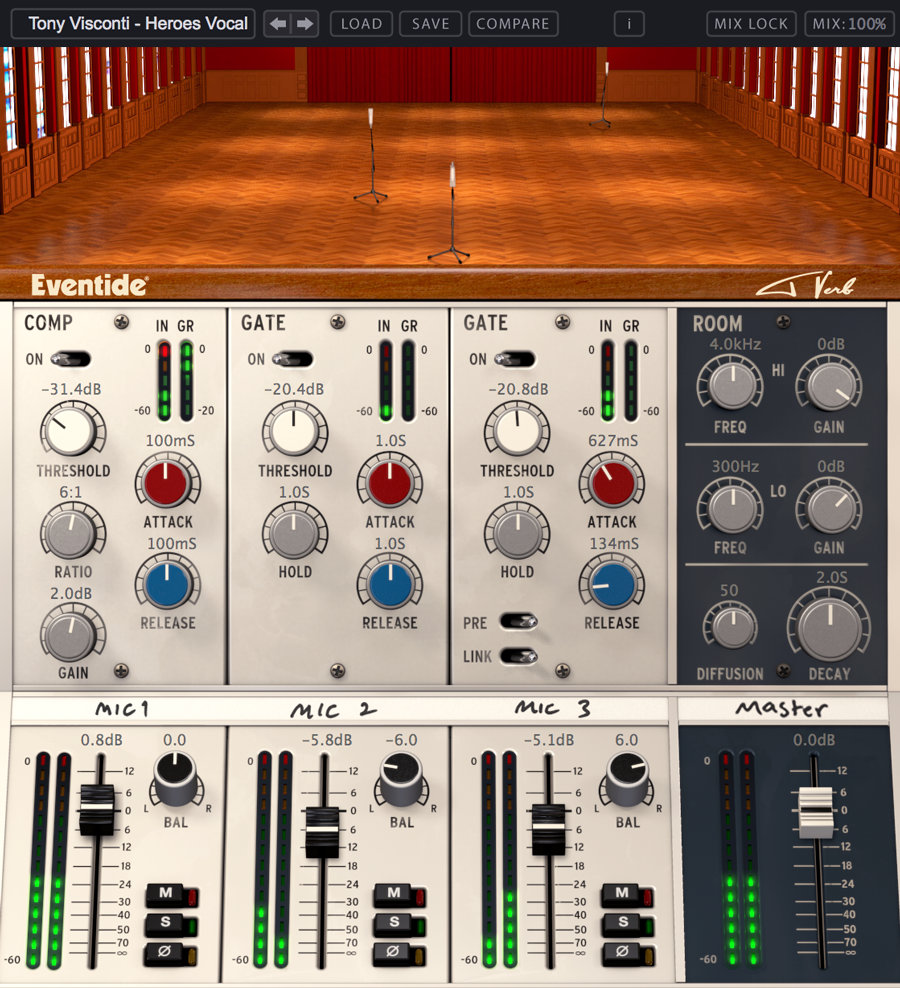 Tverb plug-in screenshot