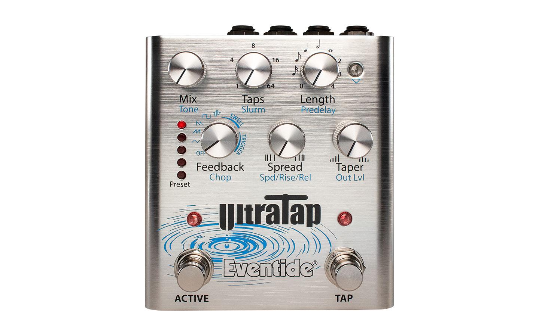 Eventide UltraTap Tap Delay Pedal Front Panel Stereo MIDI