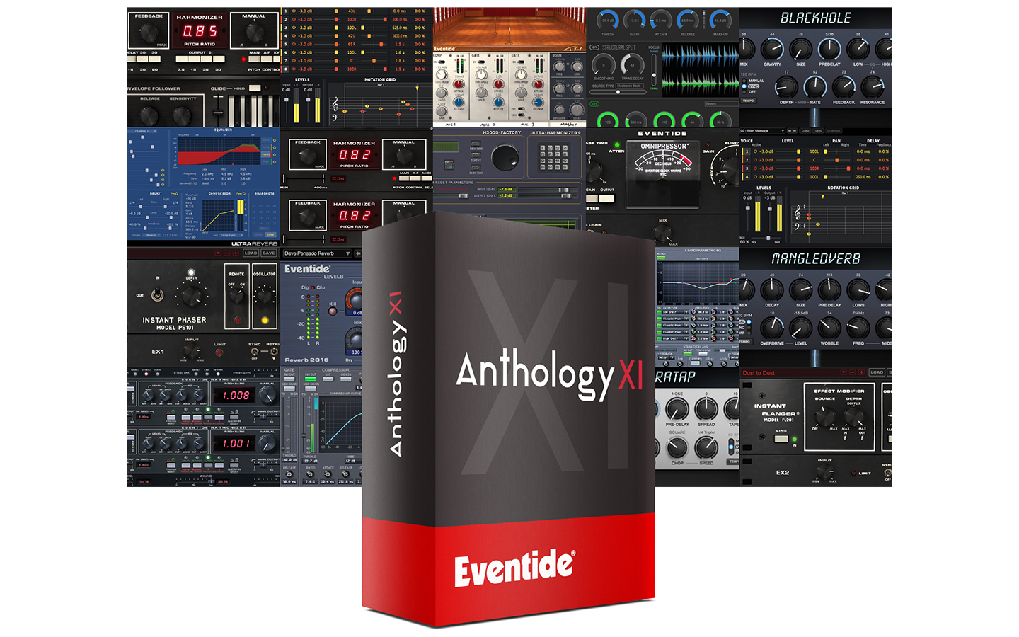 Anthology XI plug-in screen shot