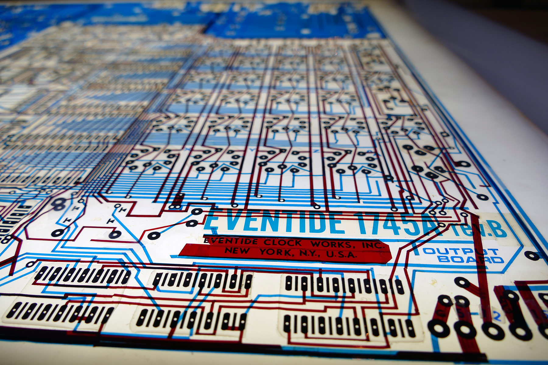 Original 1745A Circuit Board Artwork