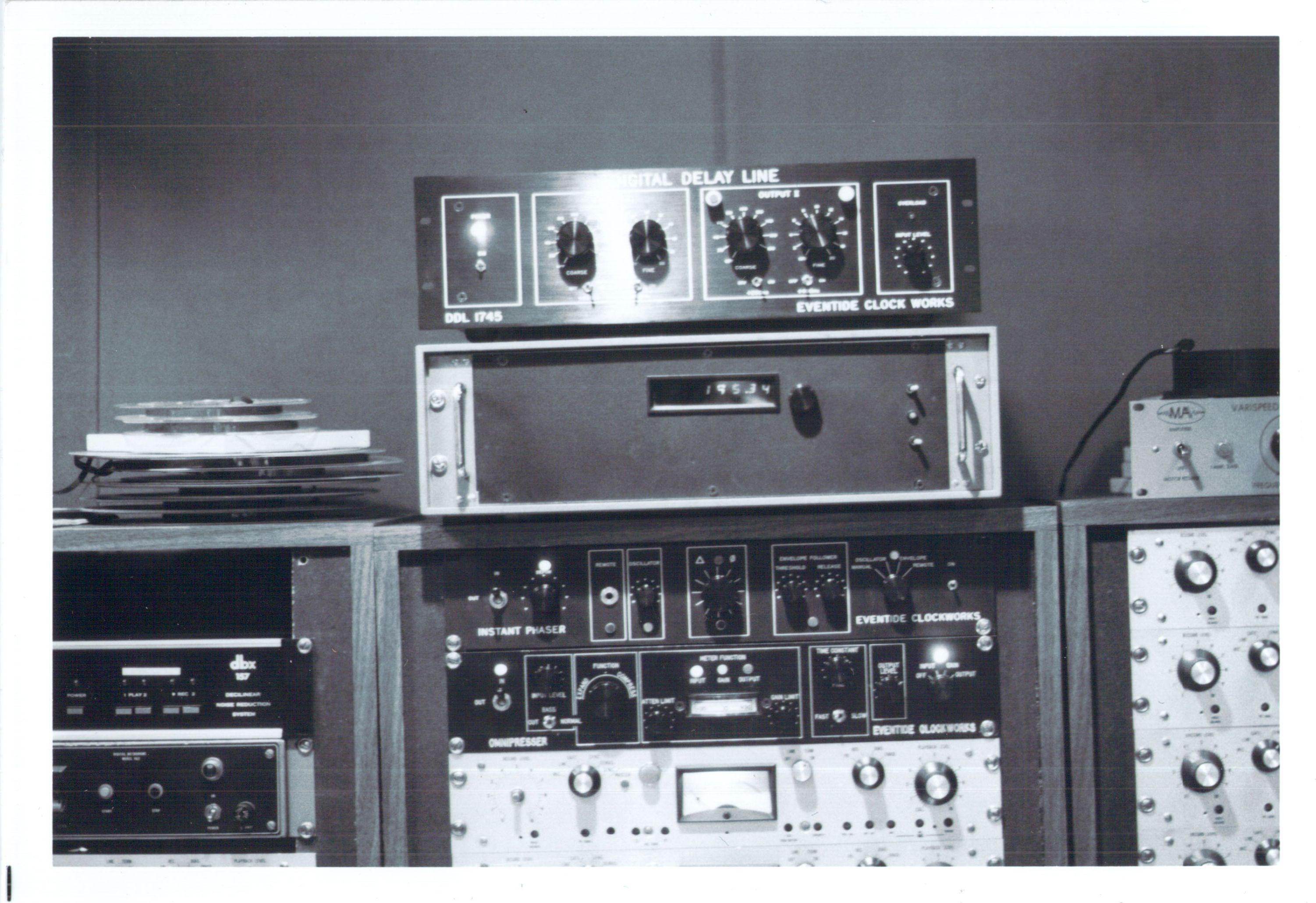 Omnipressor Prototype, Instant Phaser, and DDL 1745