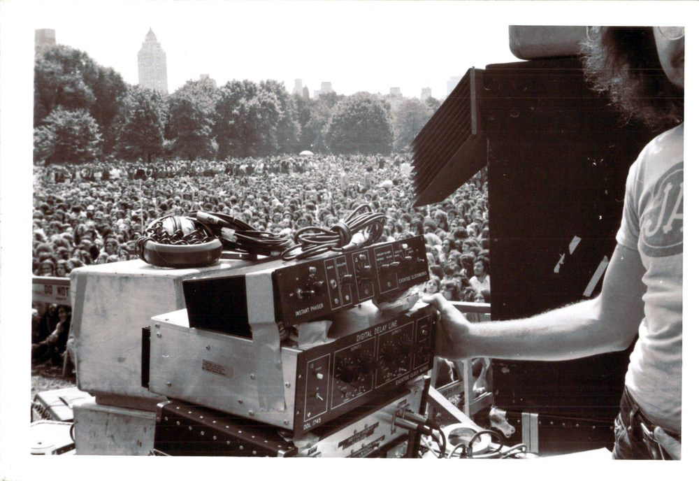 NY Central Park Concert With DDL 1745 and Instant Phaser ca. 1972