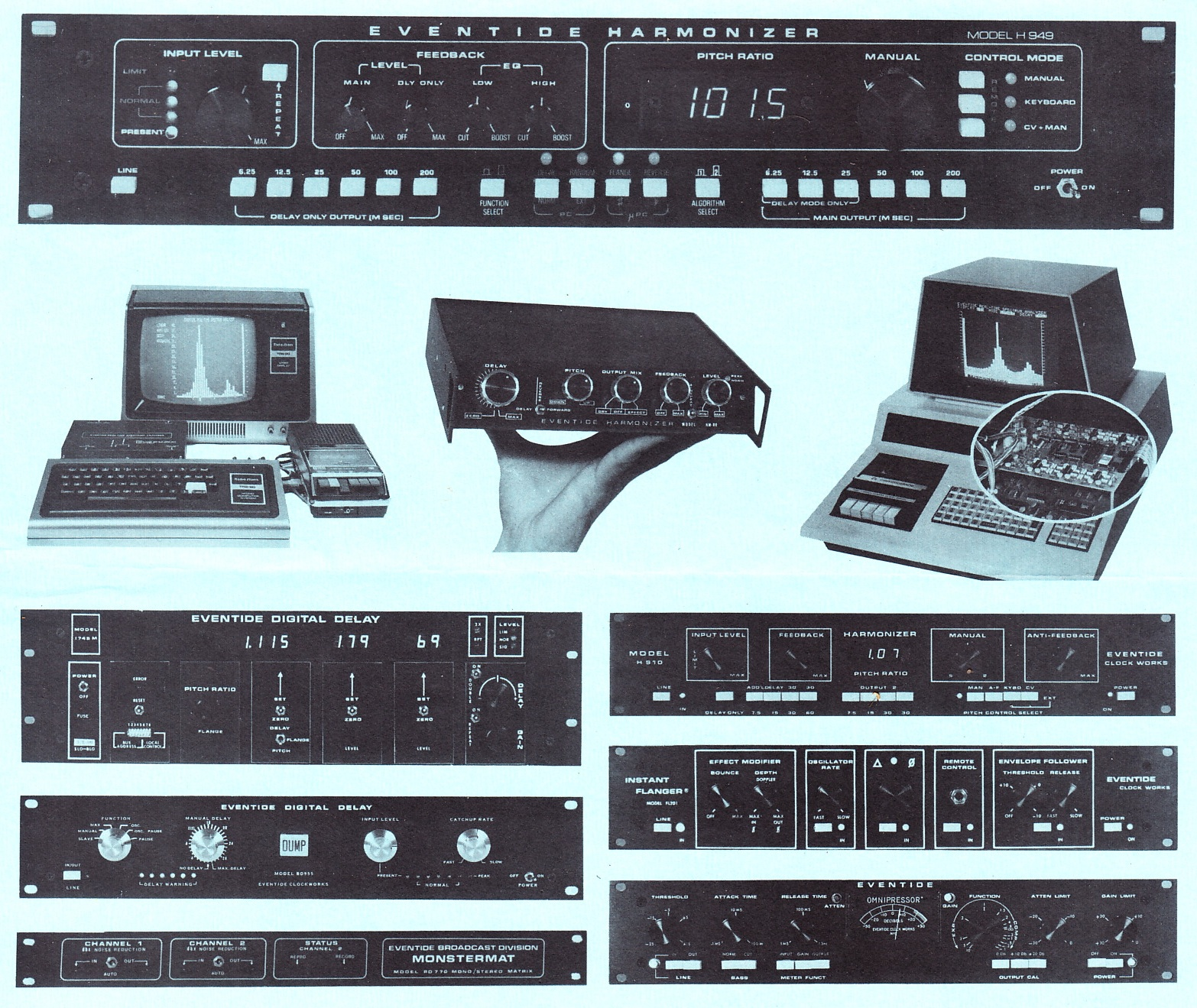 1980 Ad for Eventide Legacy Products
