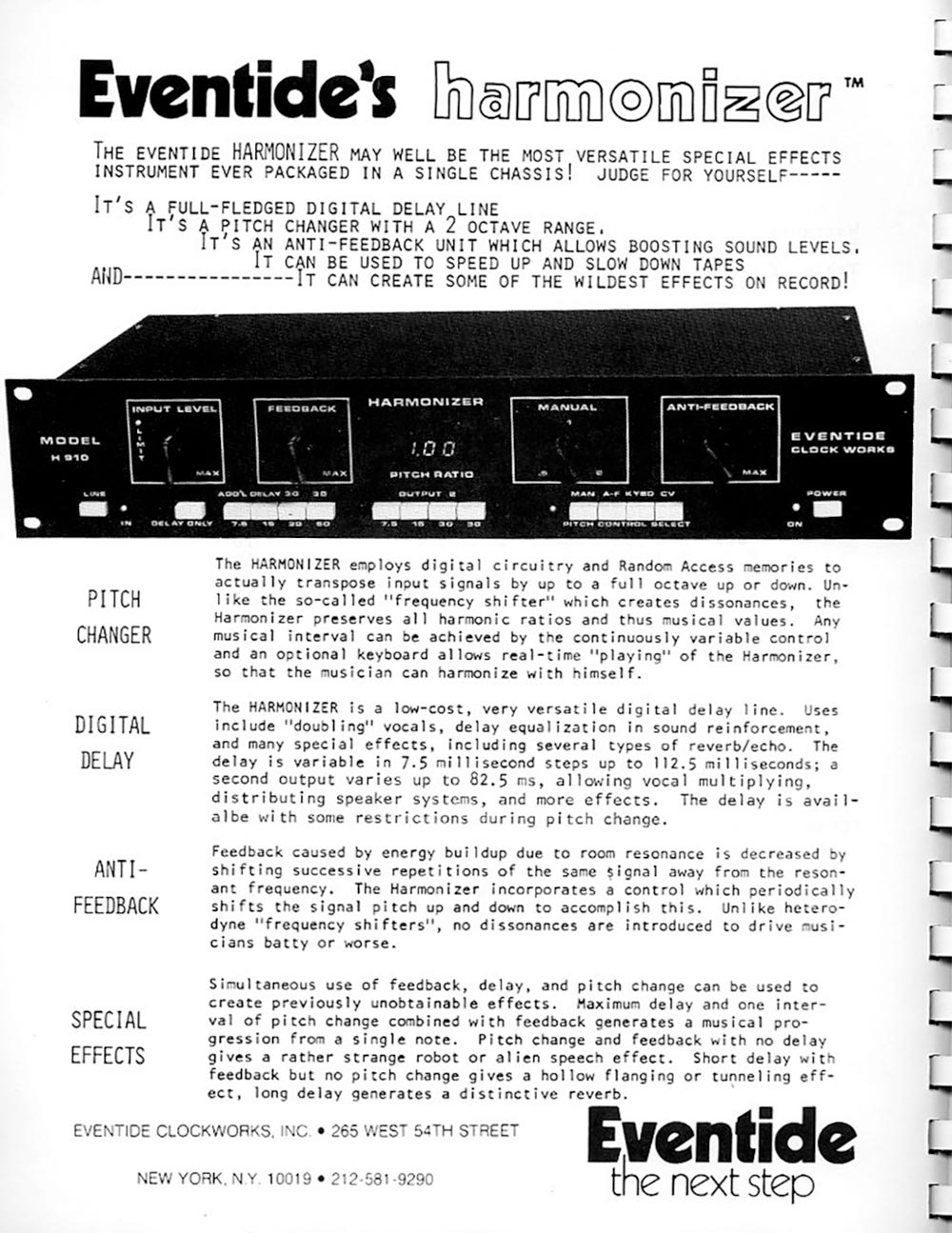 H910 Manual Page 4