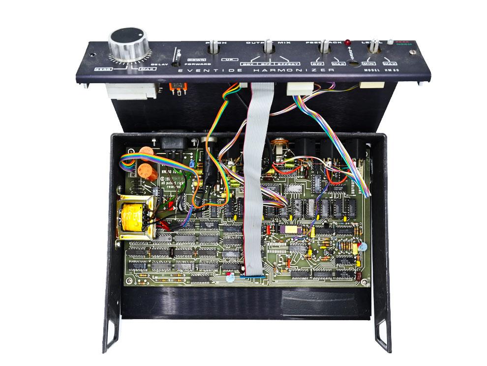 Eventide HM80 Harmonizer Inside PCB Circuit Board