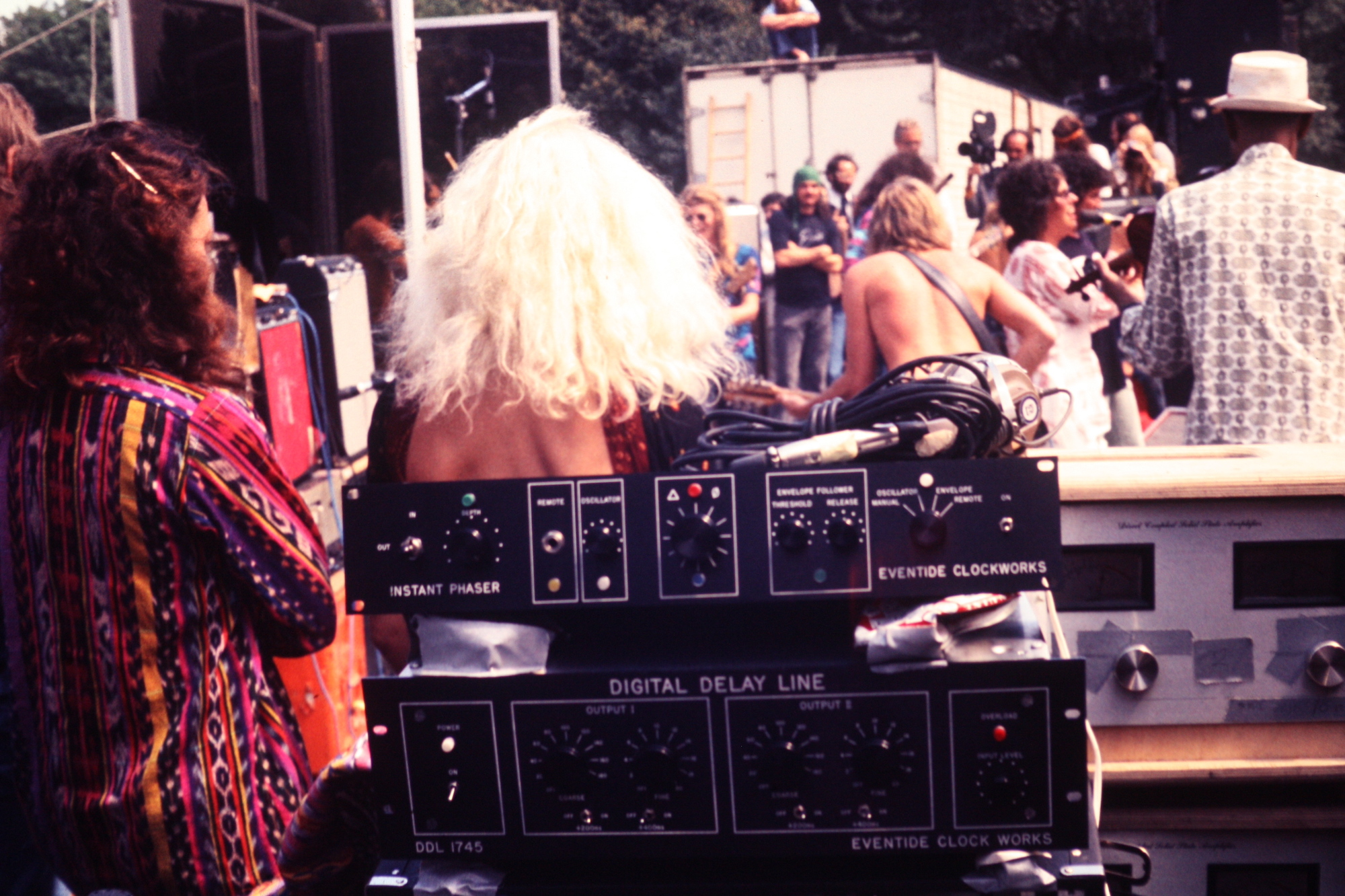Instant Phaser and DDL 1745 at a Jefferson Airplane Concert