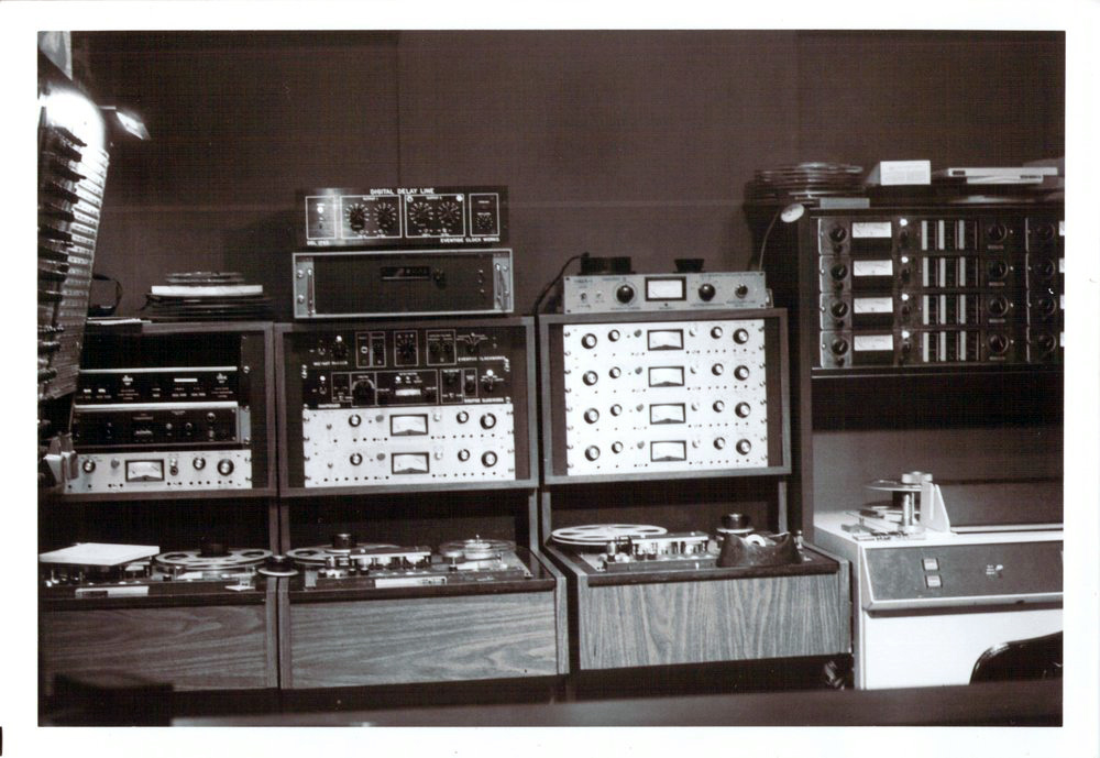 Sound Exchange Recording with DDL 1745 and proto of white-face Omnipressor (note that the meter is different)