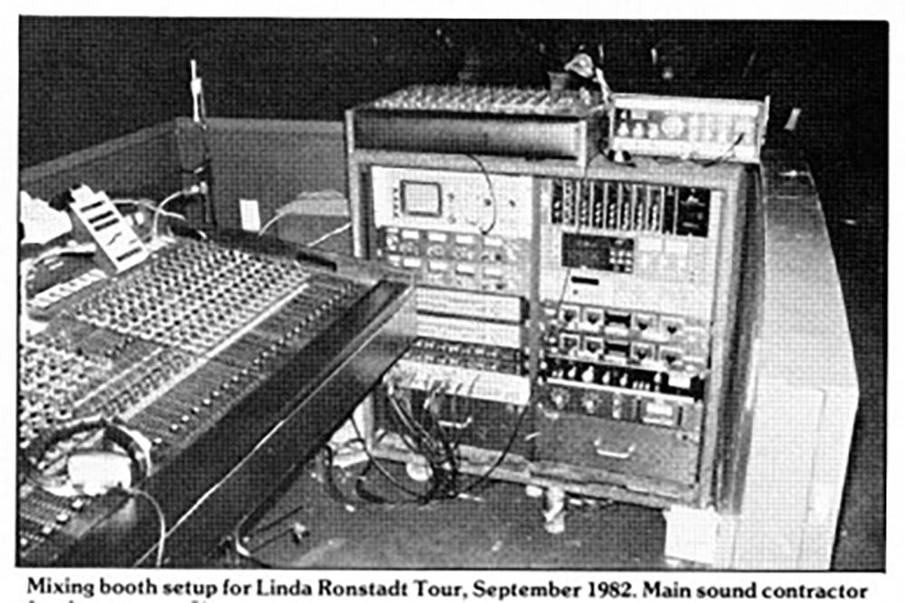 Linda Ronstadt Live Rig