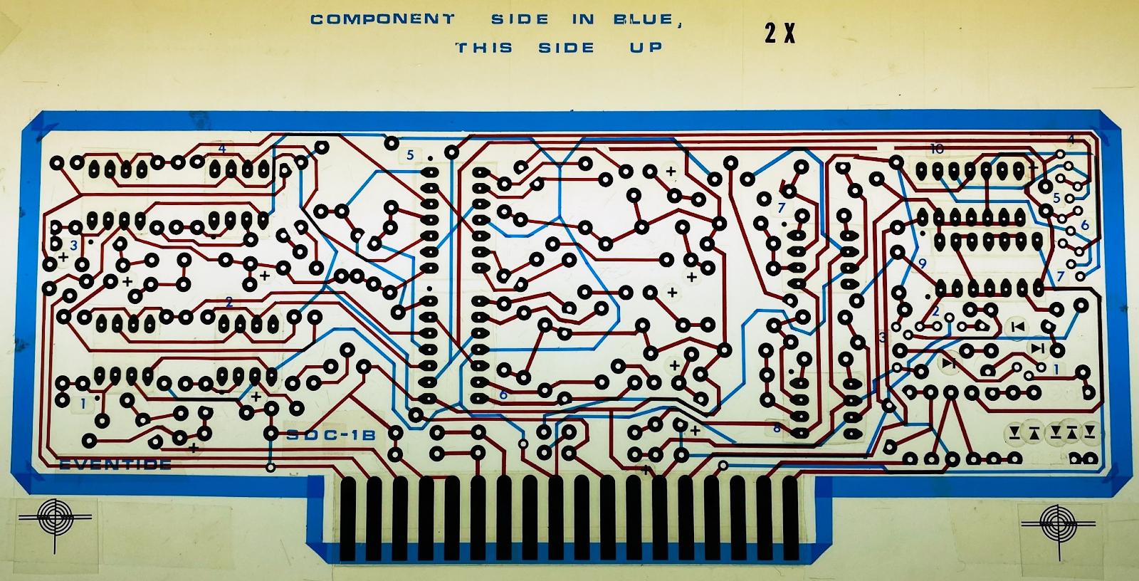 Instant Flanger PCB Artwork
