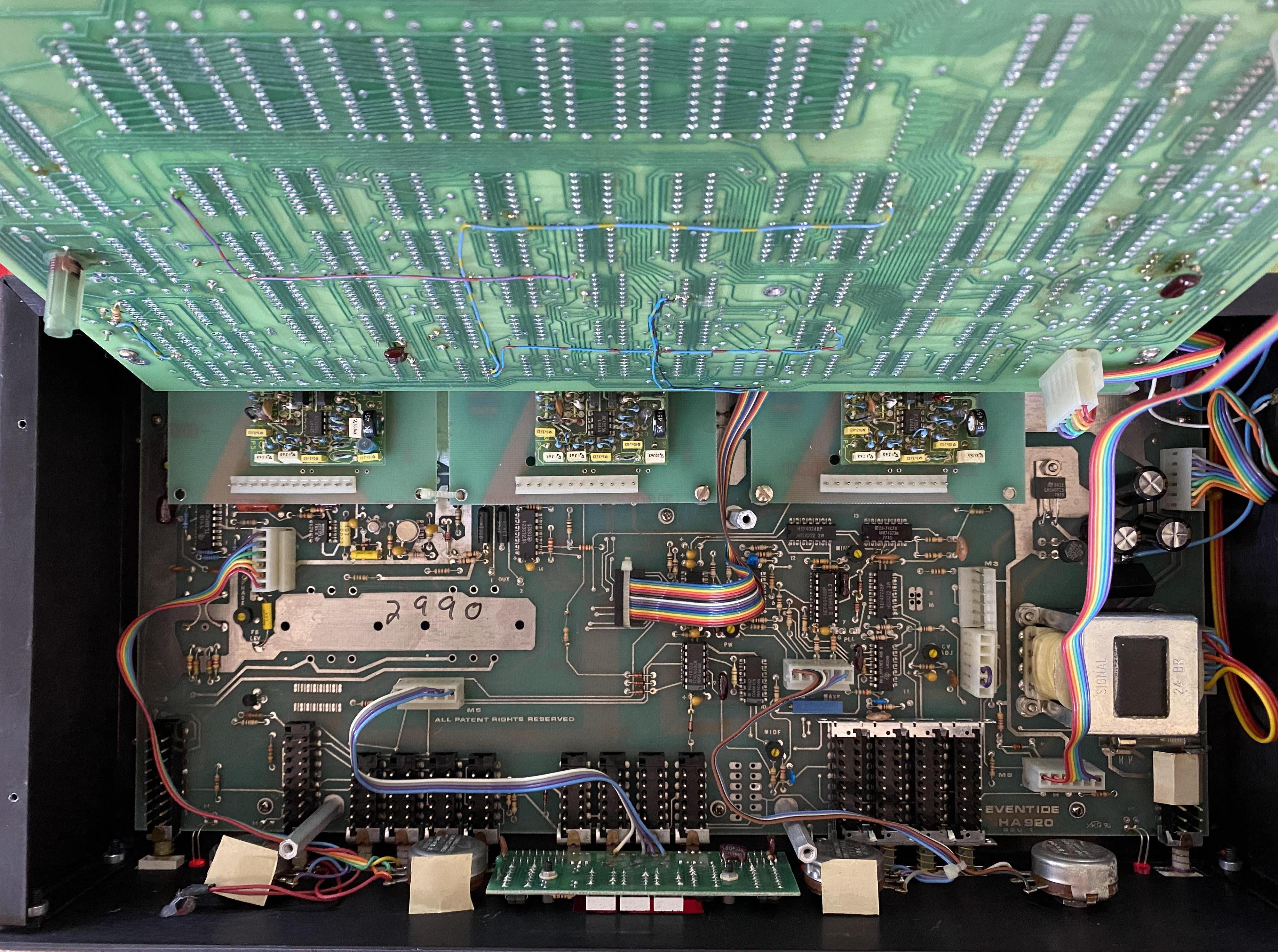 Inside the H910