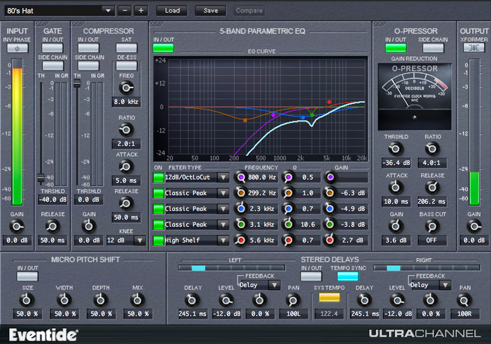 UltraChannel Channel Strip Plugin for AAX VST AU Audient Promo