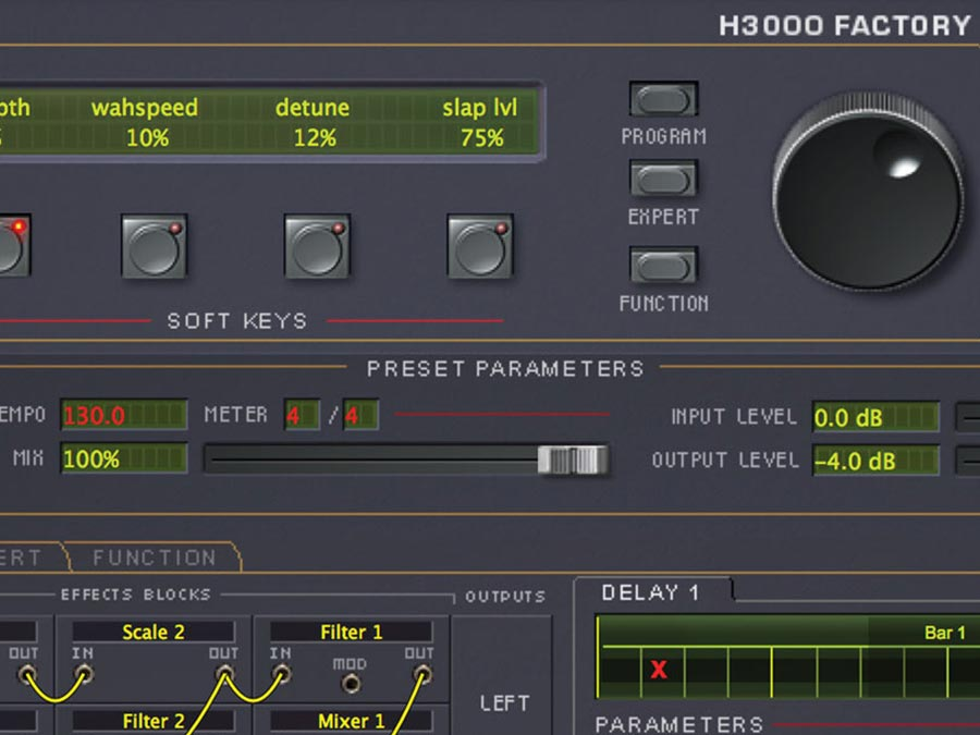 H3000 Factory | Eventide Legendary Harmonizer® plugin