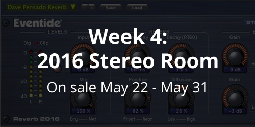 Week 4 Sale: 2016 Stereo Reverb