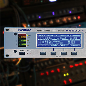 Eventide Rackmount Studio Effects