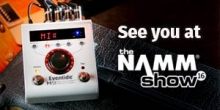 January Insider: UltraChannel sale, new H9 Algo, NAMM, Bowie and more