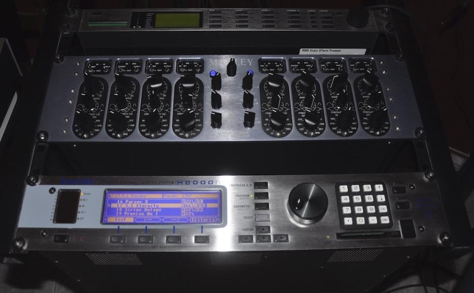 Eventide H8000FW, Manley Massive Passive, TC Electronic M3000